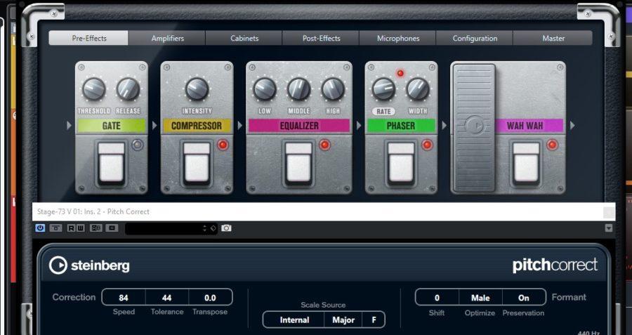 Updating 80s -Amp e PItch PIano strumenti musicali