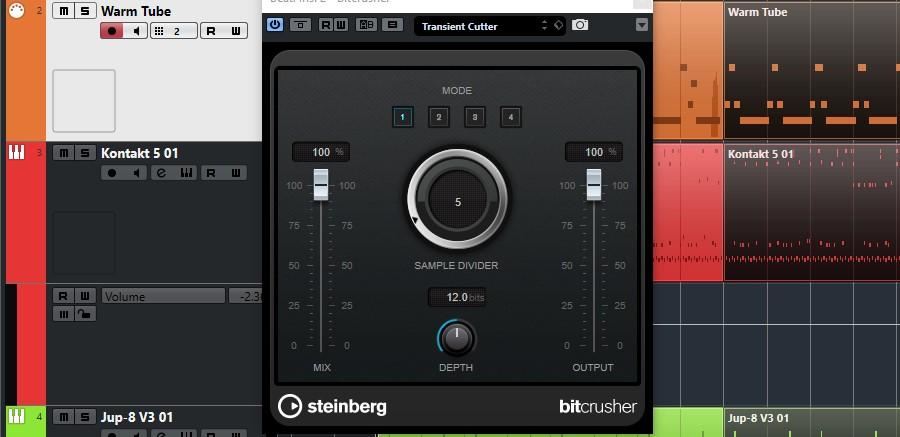 Updating 80s - BitCrusher Bass strumenti musicali