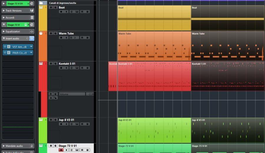 Updating 80s strumenti musicali