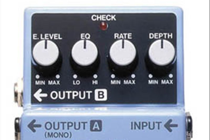 boss CH-1 chorus strumenti musicali