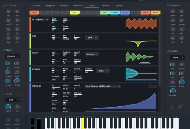 refx Nexus 3 synth soft virtual instrument daw software producer strumenti musicali