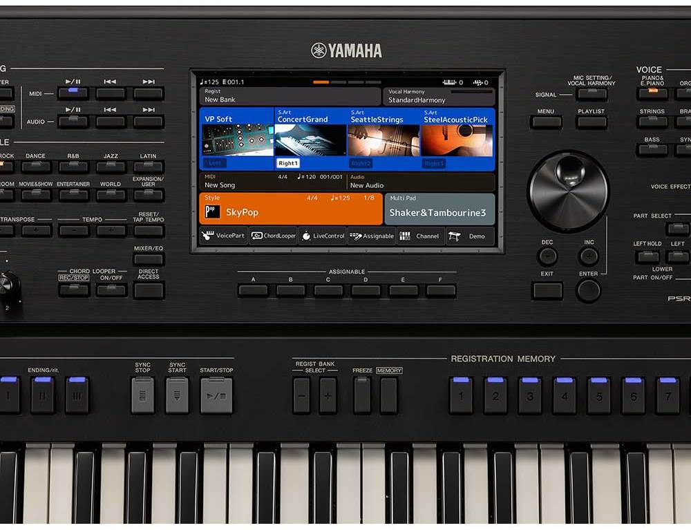test yamaha psr-sx900