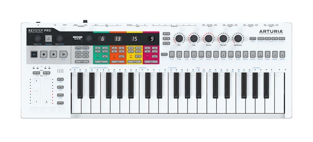 Arturia Keystep Pro controller midi keyboard tastiera hardware midi midiware strumenti musicali
