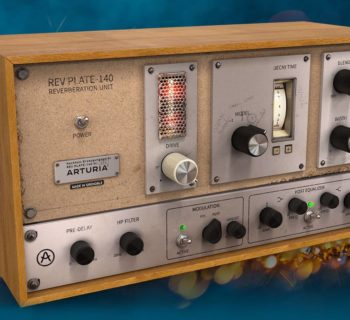 Arturia Rev Plate-140 plug-in audio daw software riverbero strumenti musicali