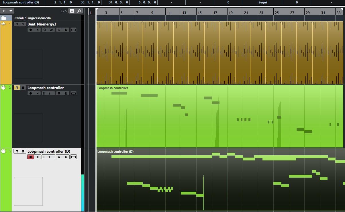 Cubase Tricks - Loopmash strumenti musicali