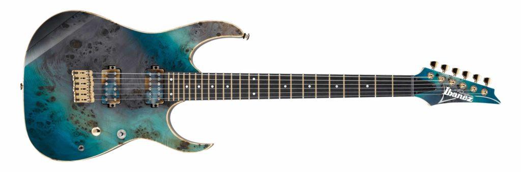 Ibanez RG6PPBFX Premium Tropical Seafloor chitarra guitar strumenti musicali