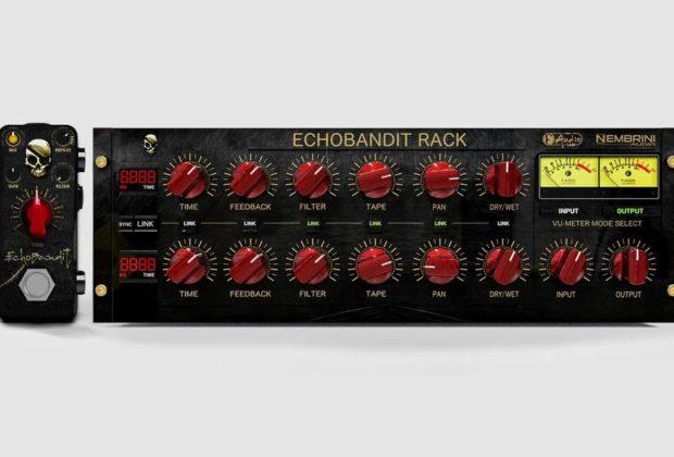 Nembrini Audio EchoBandit f-pedals rack stomp fx plug-in audio pro software daw virtual strumenti musicali