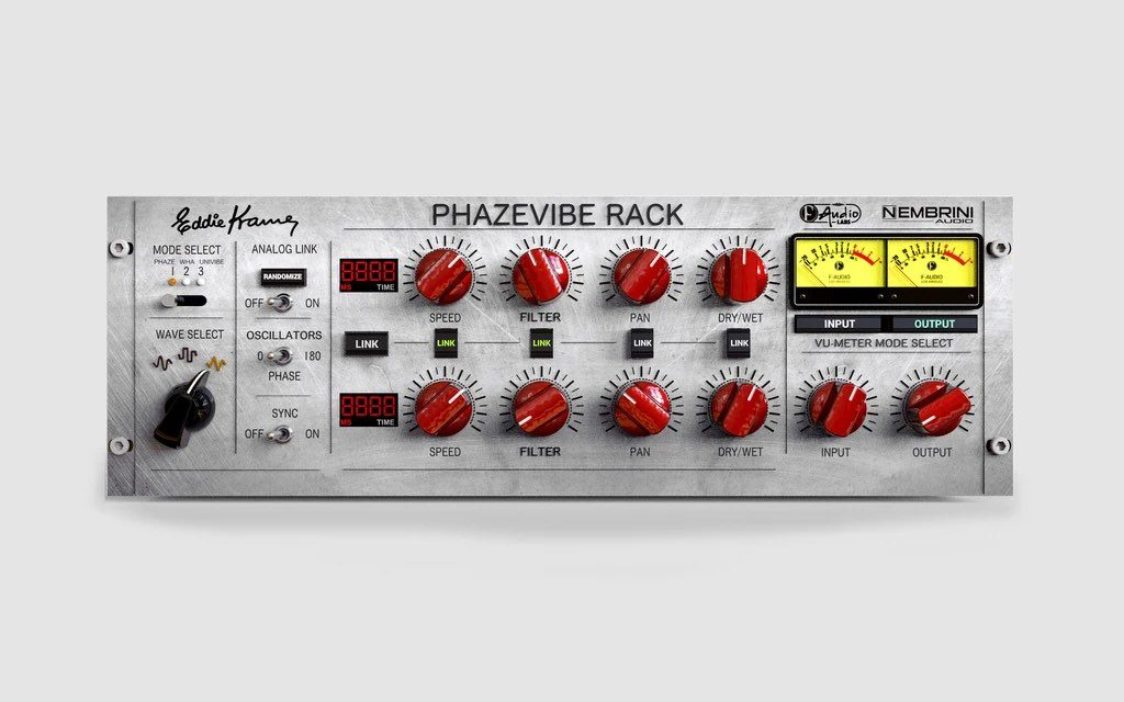 Nembrini Audio Phazevibe bundle rack virtual software daw guitar fx eddie kramer strumenti musicali