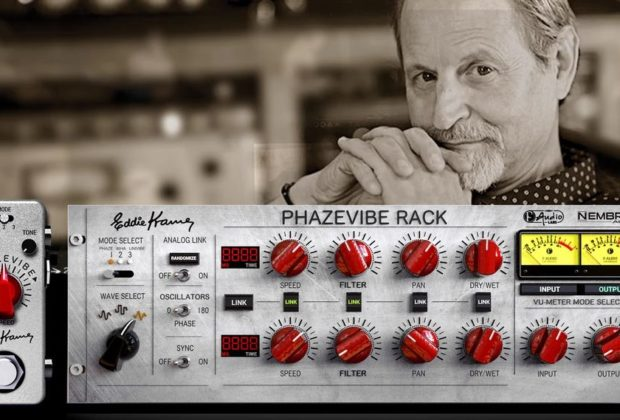 Nembrini Audio Phazevibe bundle rack stompbox virtual software daw guitar fx eddie kramer strumenti musicali