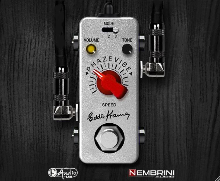 Nembrini Audio Phazevibe bundle stompbox virtual software daw guitar fx eddie kramer strumenti musicali