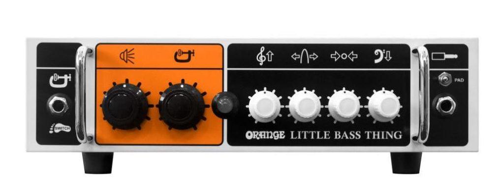 Orange Little Bass Thing amp adagio strumenti musicali
