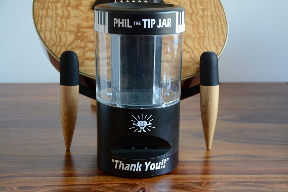 Phil The Tip Jar strumenti musicali
