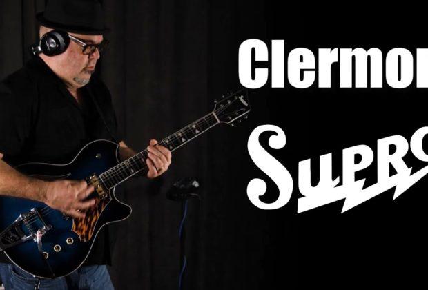 Supro conquistador Clermont chitarra elettrica guitar electric mogar strumenti musicali