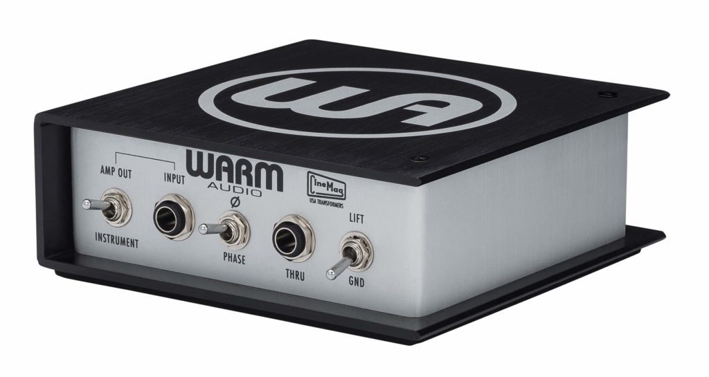 Warm Audio Direct Box active guitar bass midiware studio live strumenti musicali