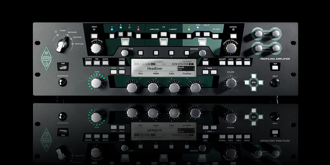 kemper modeling chitarra amplificatori strumenti musicali