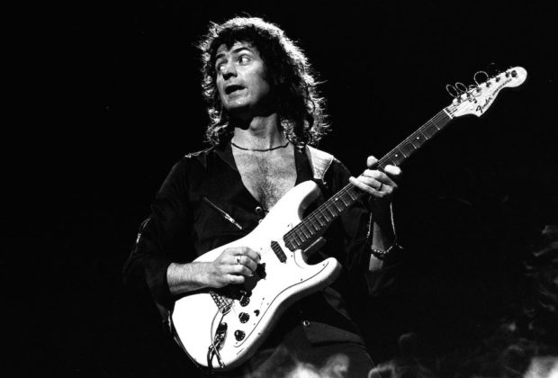 Deep Purple ritchie blackmore strumenti musicali fender stratocaster
