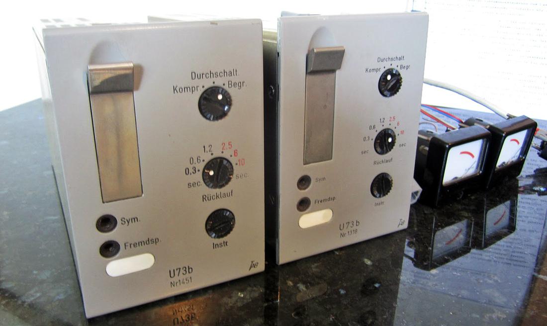 telefunken U73b Compressore