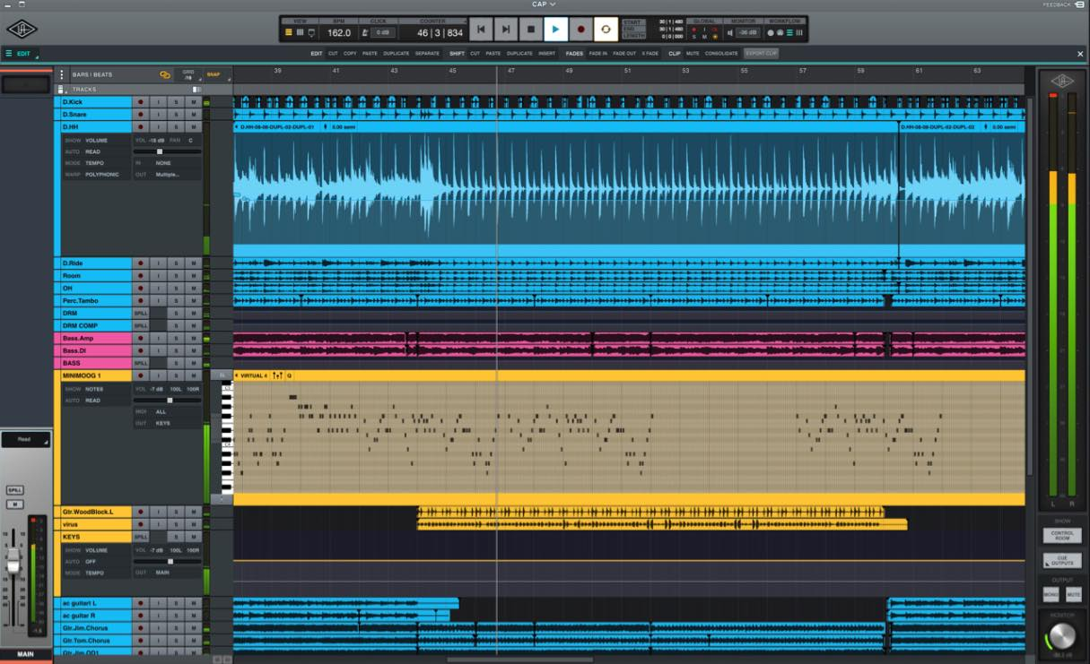 universal audio luna recording daw software producer strumenti musicali