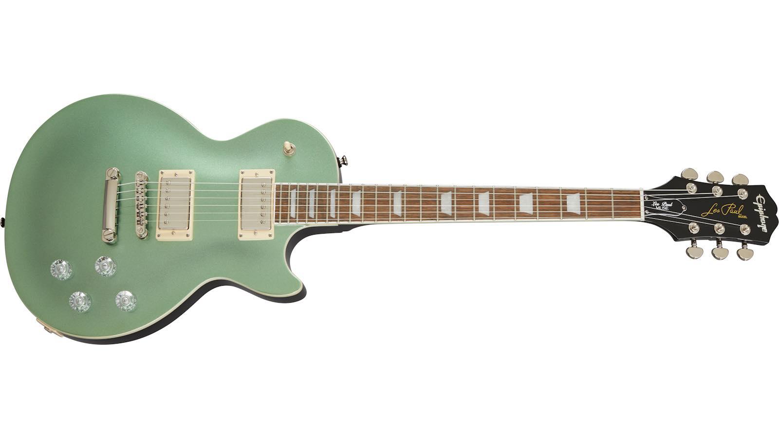 Epiphone Les Paul Muse Wanderlust Metallic Green chitarra guitar elettrica electric strumenti musicali