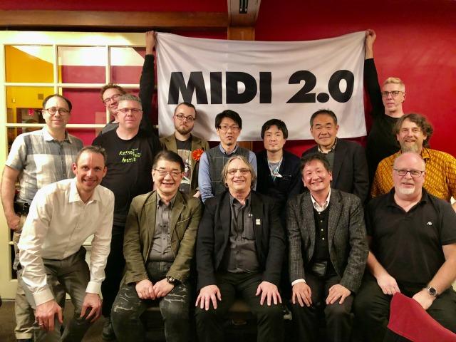 MIDI 2020 strumenti musicali