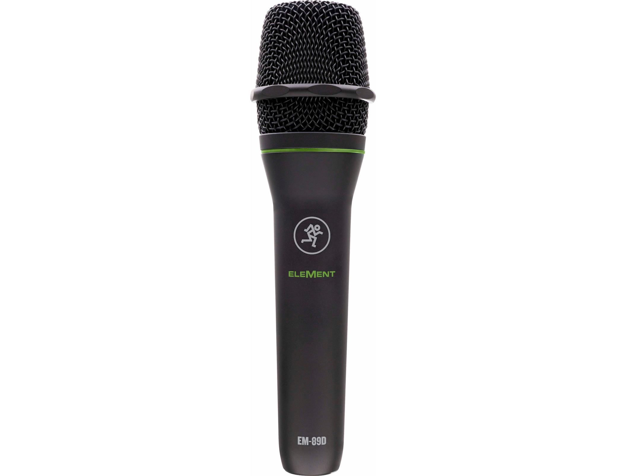 Mackie EM-89D Element adagio mic rec studio home project strumenti musicali