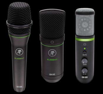 Mackie Element adagio mic rec studio home project strumenti musicali