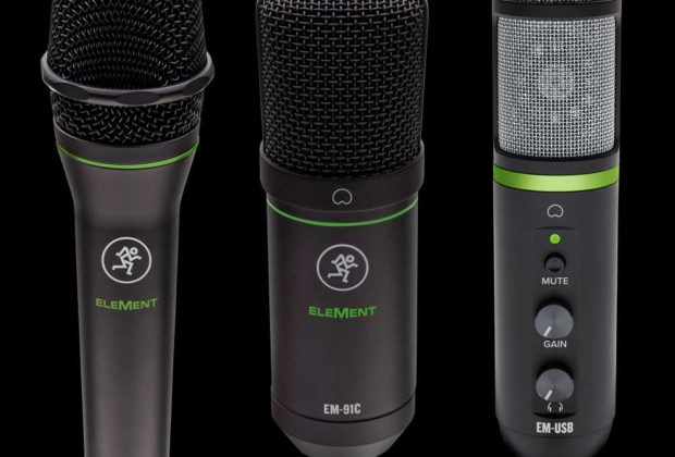 Mackie Element adagio mic rec studio home project strumenti musicali