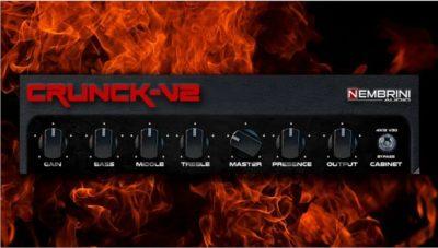 Nembrini Audio Crank v2 iOS virtual fx rack guitar amp chitarra strumenti musicali
