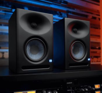 PreSonus Eris E7 XT studio monitor rec mix hardware pro project home midi music audiofader