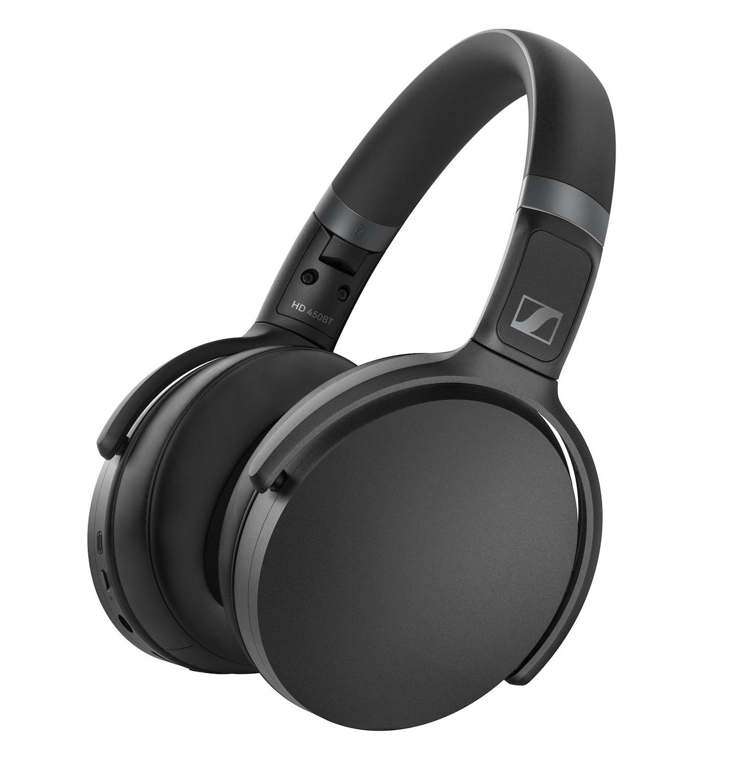 Sennheiser HD 450BT cuffia headphones bluetooth wireless audio exhibo strumenti musicali