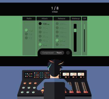 SoundGym Compressionist ear training game software audio rec mix strumenti musicali