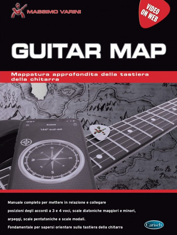 massimo varini guitar map strumenti musicali