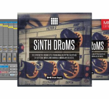 Drum Depot SiNTH DRoMS sample library virtual mpc software daw producer strumenti musicali