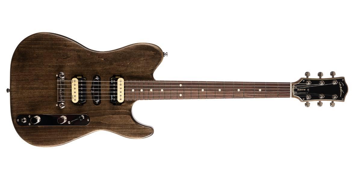 Godin Radium Carbon Black RN chitarra elettrica guitar strumenti musicali