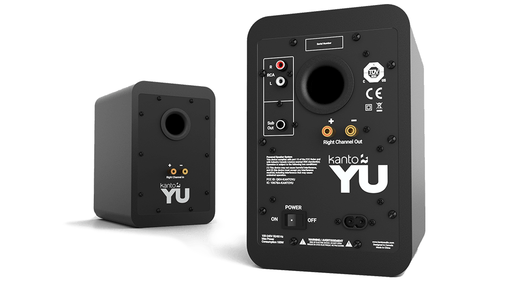 Kanto Audio YU monitor audio speaker home bluetooth music strumenti musicali