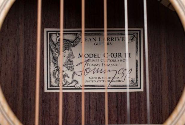 Larriveé Guitars Gold Music chitarra acustica strumenti musicali
