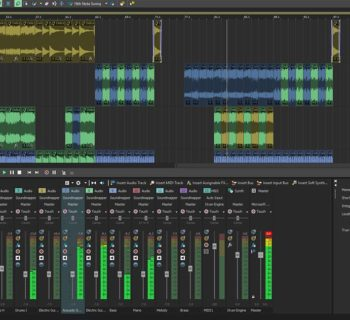 Magix Acid Pro 10 daw software producer artist virtual loop audiofader