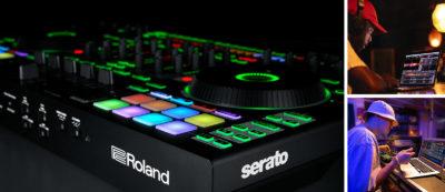 Roland DJ-808 serato panel dj strumenti musicali