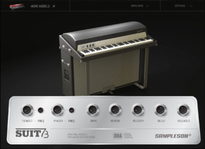 Sampleson Suit73 daw software virtual instrument keyboard tastiera electric piano strumenti musicali