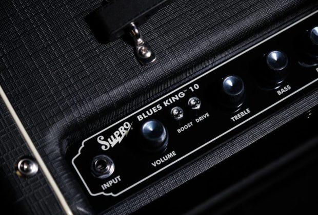 Supro Blues King 10 chitarra guitar amp fx tube mogar strumenti musicali