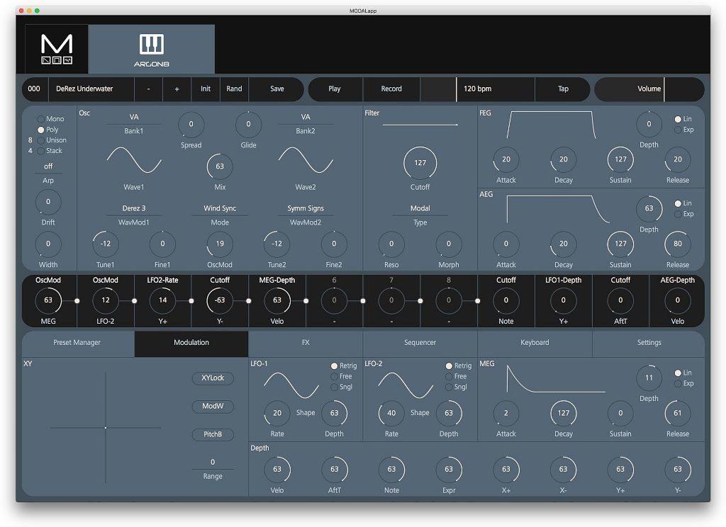 modal electronics wavetable 002 musicstore