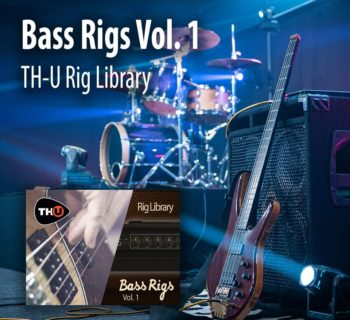 Overloud TH-U Bass Rigs Vol.1 software libreria library software daw plug-in audio strumenti musicali
