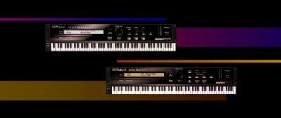 RolandCloud SRX Piano virtual instrument roland keyboard software producer daw strumenti musicali