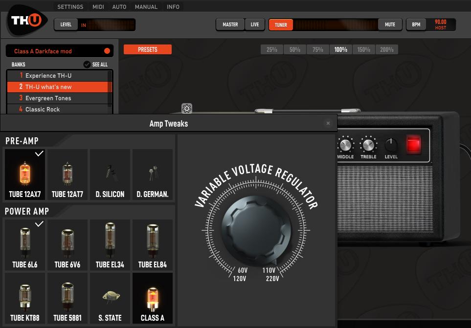 TH-U Blackface 1 strumenti musicali