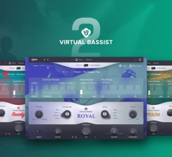 UJam Virtual Bassist 2 virtual instrument bass producer music strumenti musicali
