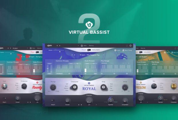 UJam Virtual Bassist 2 virtual instrument bass producer music strumenti musicali