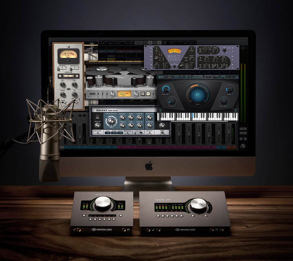 Universal Audio Desktop Platinum Vocal promo plug-in audio pro studio virtual daw software audiofader midiware