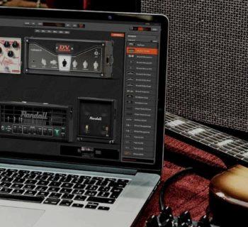 overloud thu software virtual guitar chitarra amp cabinet mic fx pedal test strumenti musicali
