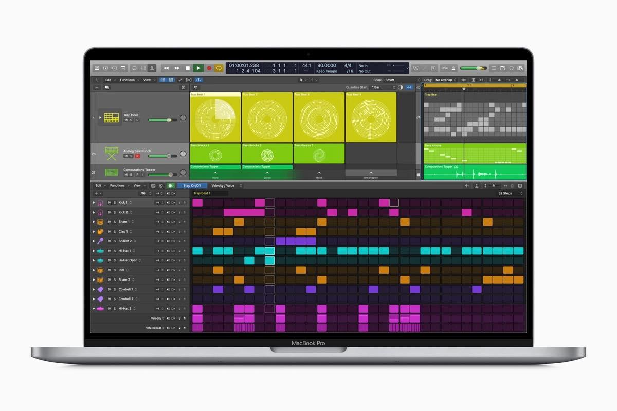 Apple Logic Pro X 10.5 software daw virtual aggiornamento update strumenti musicali music producer