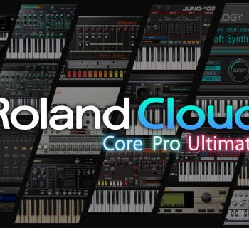 Roland Cloud Core Pro Ultimate software virtual instrument synth music producer strumenti musicali